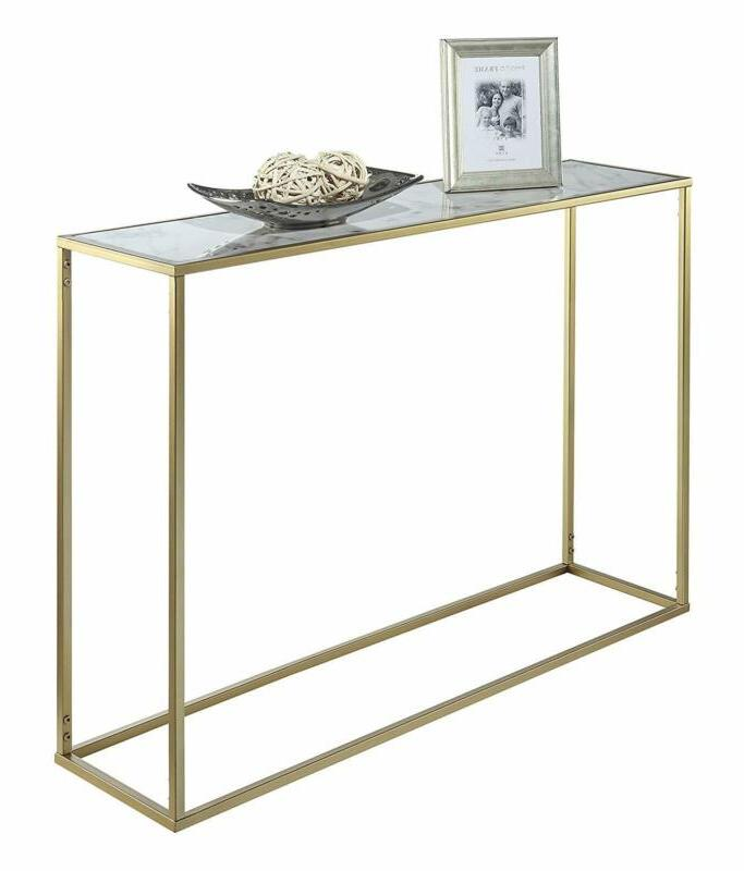 Convenience Faux Marble Table