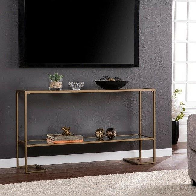 gold sofa table console entryway tables glass