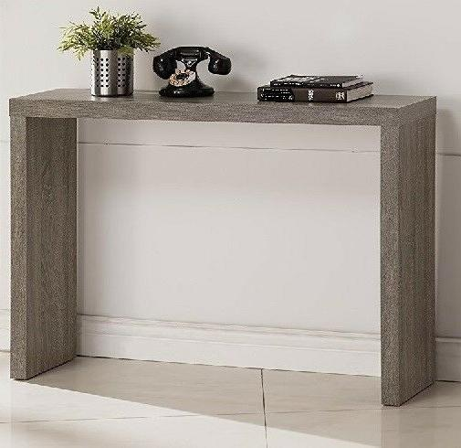 Hall Console Furniture Living Grey Wood Entryway Sofa
