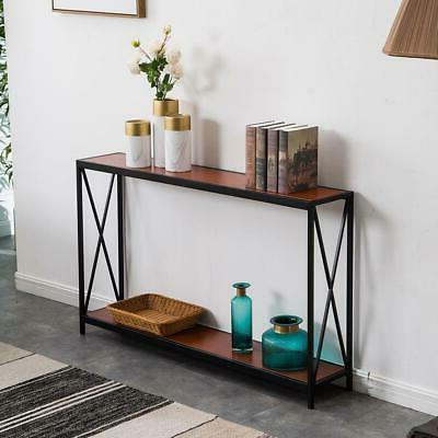 hot console table wood sofa accent