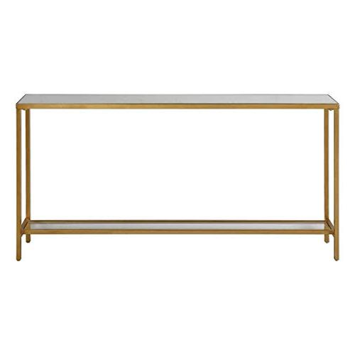 hayley gold console table 30