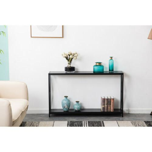 High Console Table Accent Sofa Side Display