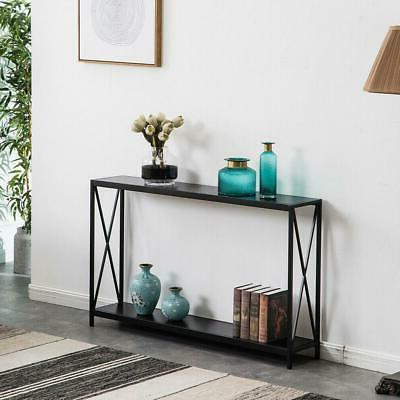 High Grade Console Table Accent Stand Side Display Storage Shelf Entryway