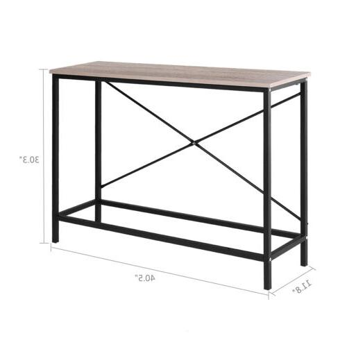 Console Table Entryway Desk Side Living Room