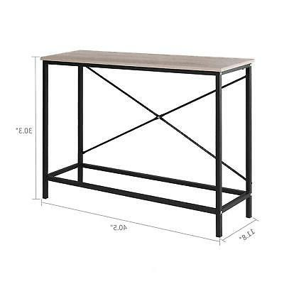 Home Console Table Entryway Living Room Furniture