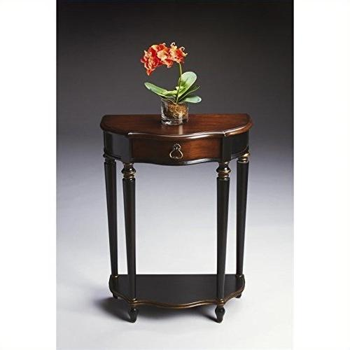 home d cor console table