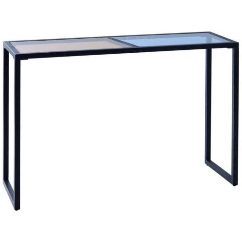 Home Office Console Table Glass