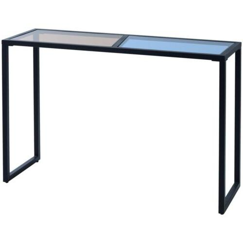 Home Console Table Tempered Glass Top