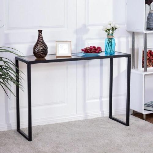 Home Console Table Glass