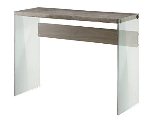 Monarch I with Tempered Glass Table Dark