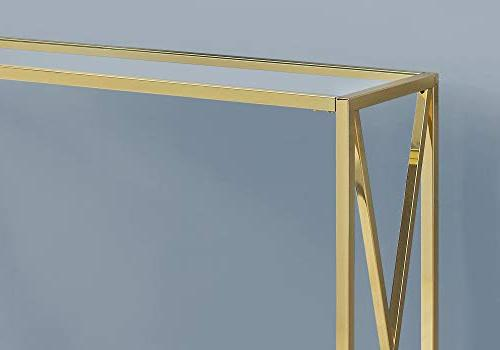 Monarch 3446 Accent, Table, Gold
