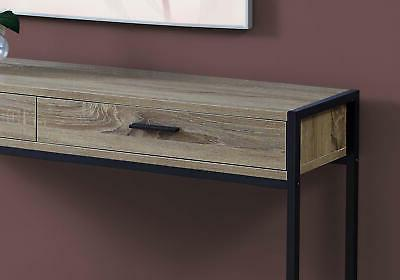"""Monarch I 48"""" Long Wood Top Metal Table Drawer Stor"""