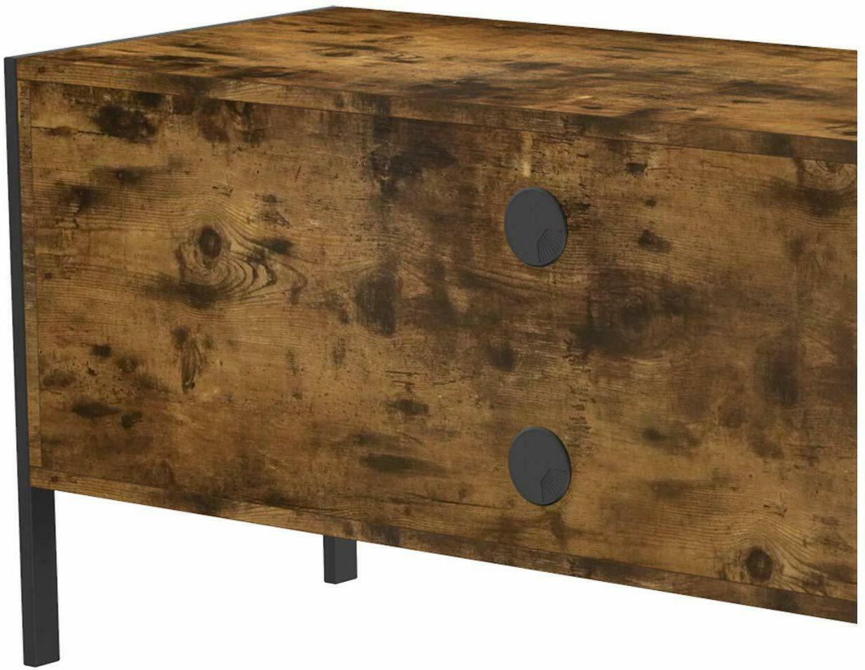 IRONCK Industrial TV Console, Television Console Table