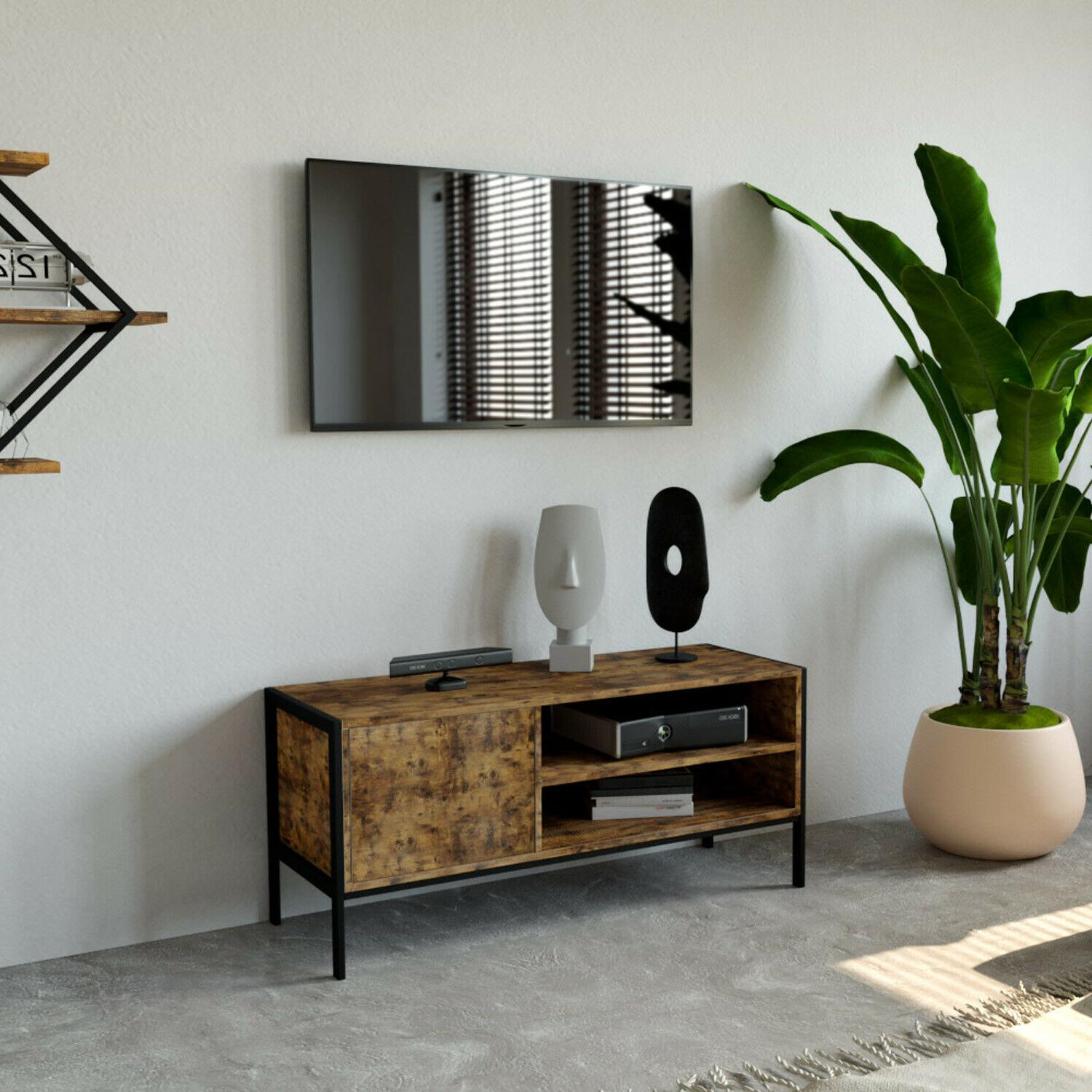 IRONCK Industrial TV TV Console Table