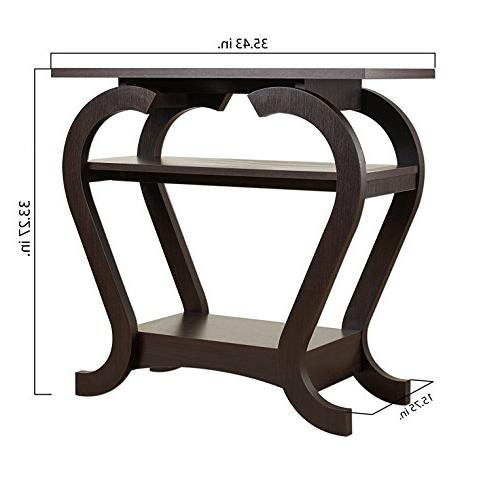 ioHOMES Modern Console Table,