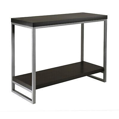 Winsome Wood Modern Dark Espresso Composite Wood And Metal C