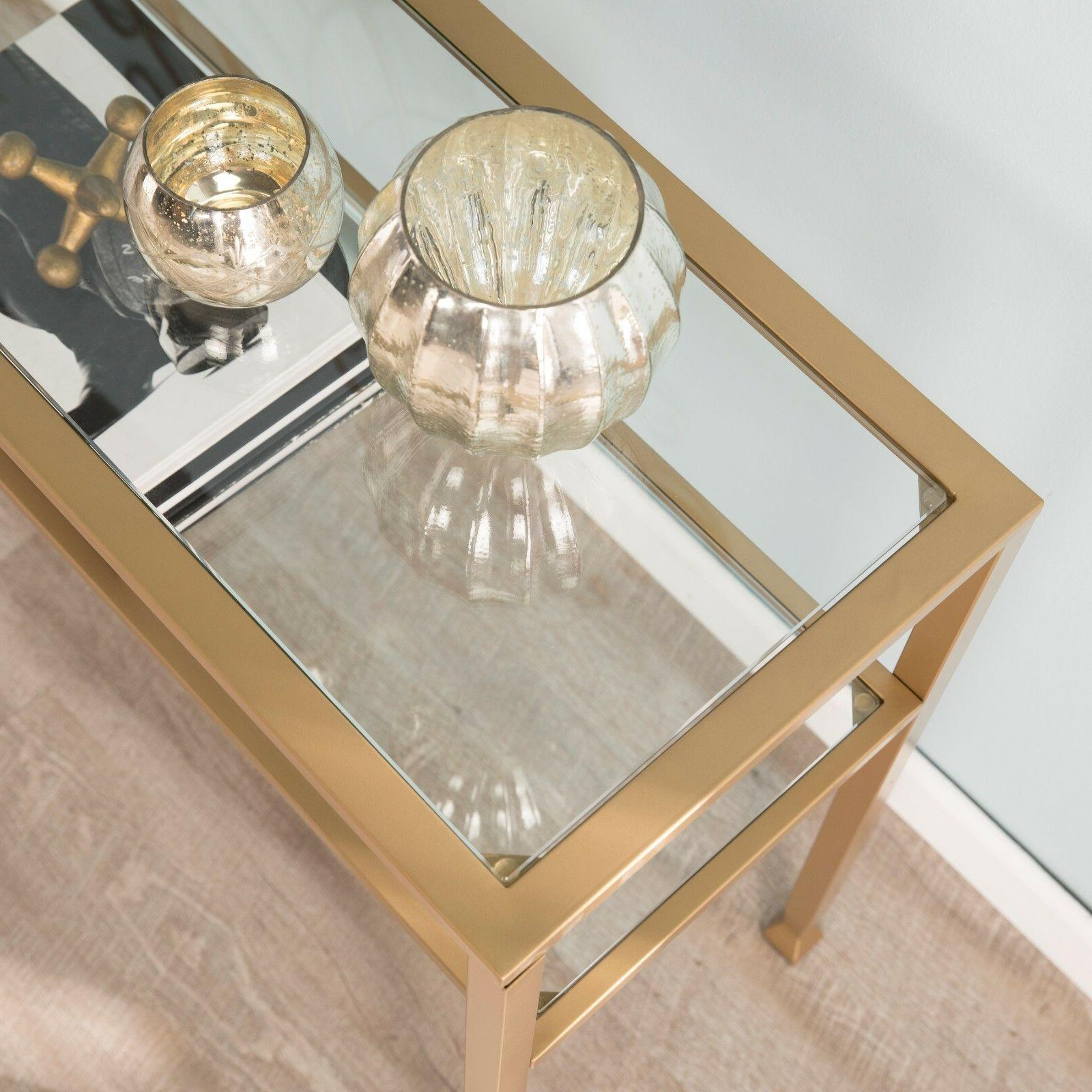 JST37575 GLASS CONSOLE