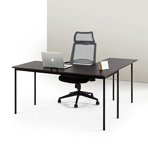 l shaped corner desk espresso