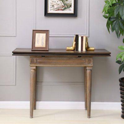 lagifore convertible console to dining table modern