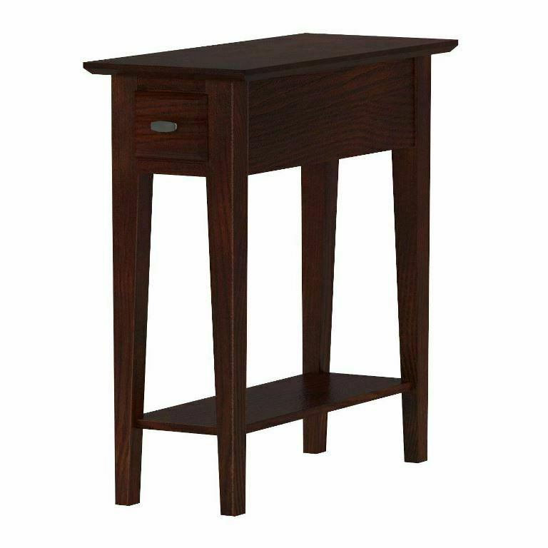 leick 10071 ch chairside recliner end table