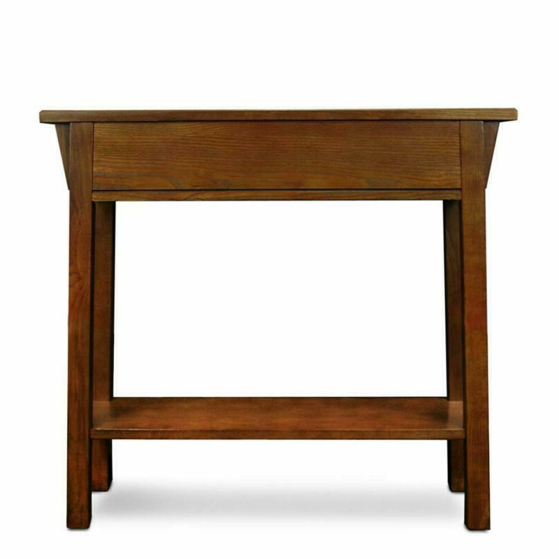 Leick Mission Hall Console Table,