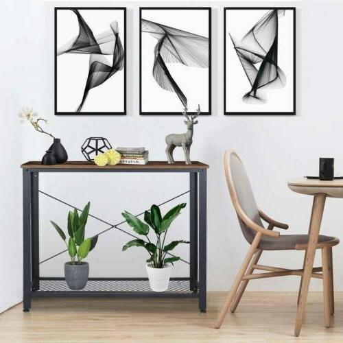 Console Table Accent Stand Sofa Side Entryway Hall Display