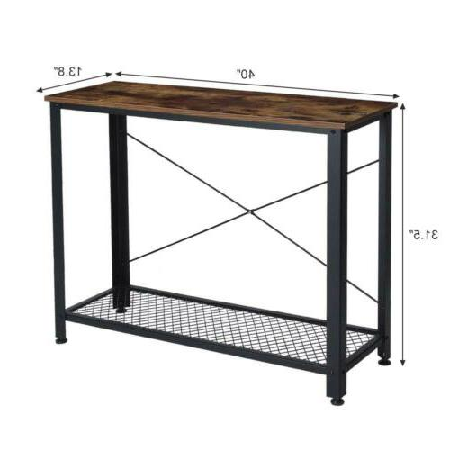 Console Table Vintage Hall Display