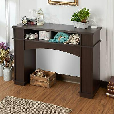 mete modern walnut storage console walnut n