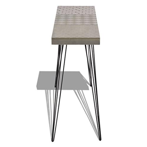 """Festnight Table with Stable Legs Room Home 35.4""""x 11.8""""x 28"""""""