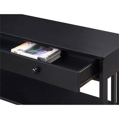 Convenience Concepts Drawer Console Table