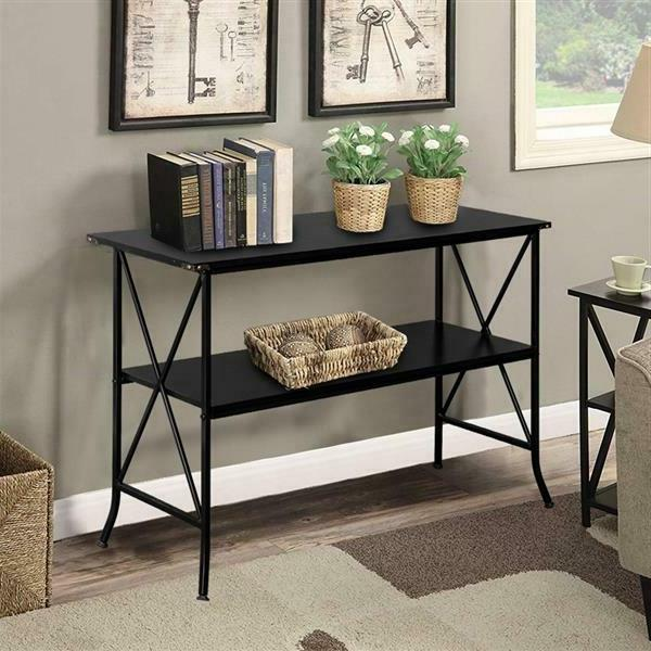 Modern Table Book Storage Table