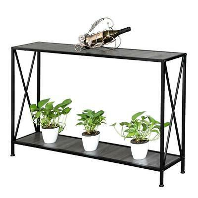 Modern Console Table/Desk Stand Furniture Black