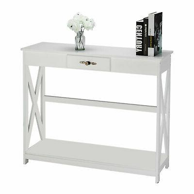 Console Table for Entryway Living room W/1-Drawer Storage Ha