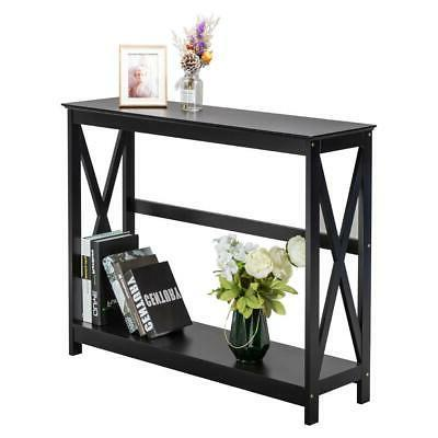 New Sofa with Stand Entryway Tables Black