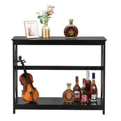 New Console Table Stand Entryway Tables Black