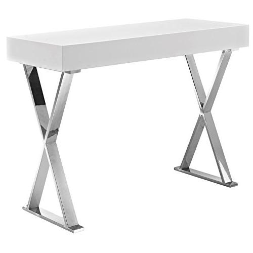 Modern Contemporary Living Lounge Room Console Stainless