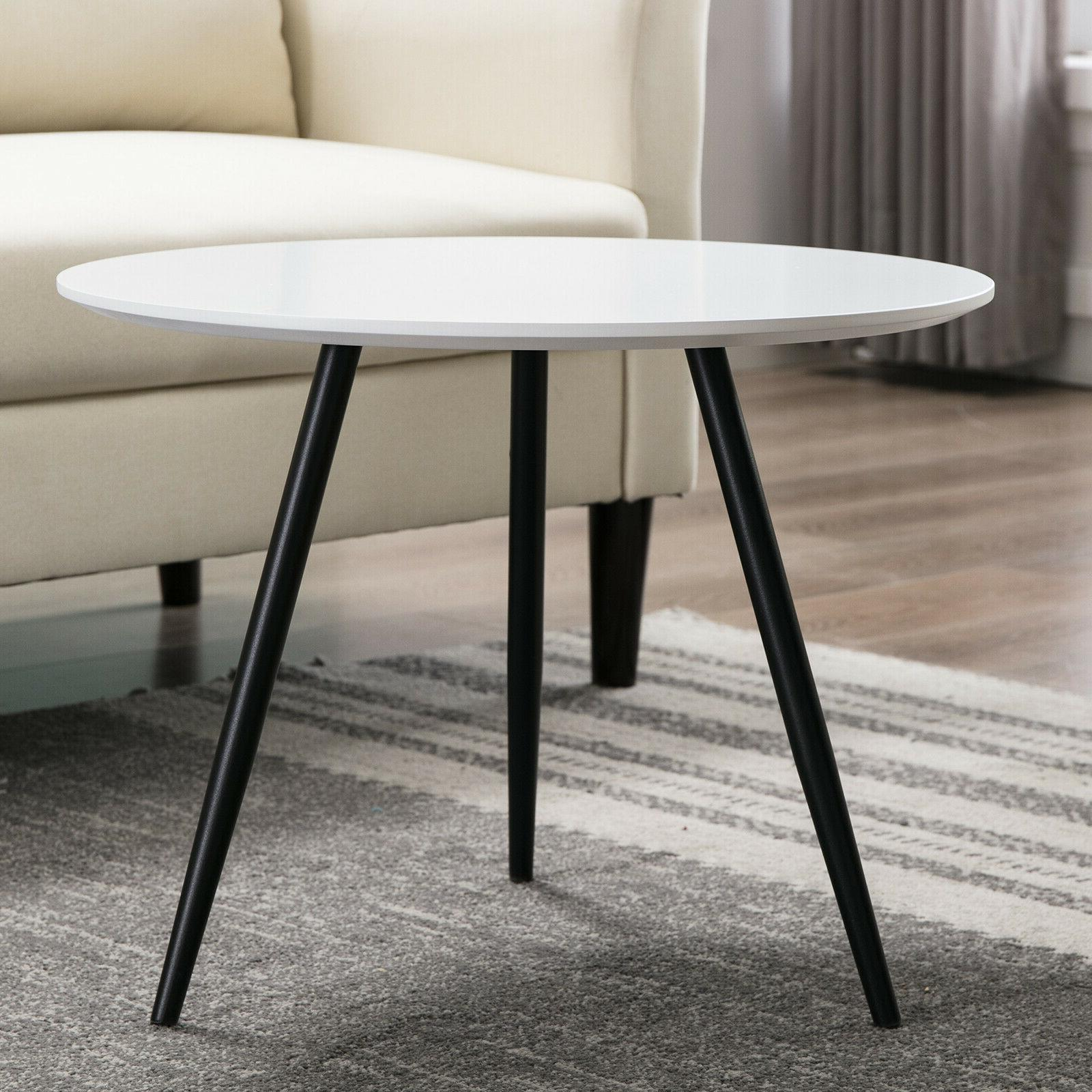 Modern Round Tables Console Coffee Side White Room