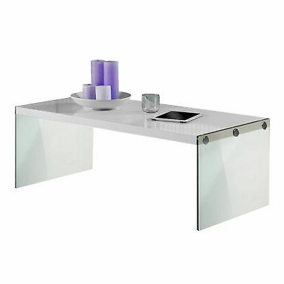 Table w/ Glass Coffee Table