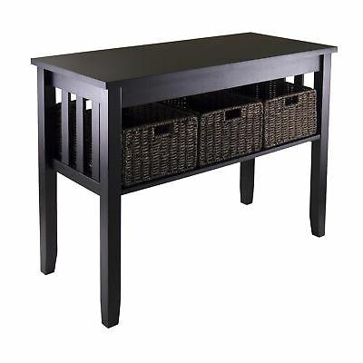 Winsome Wood Transitional Espresso Sold And Composite Wood C