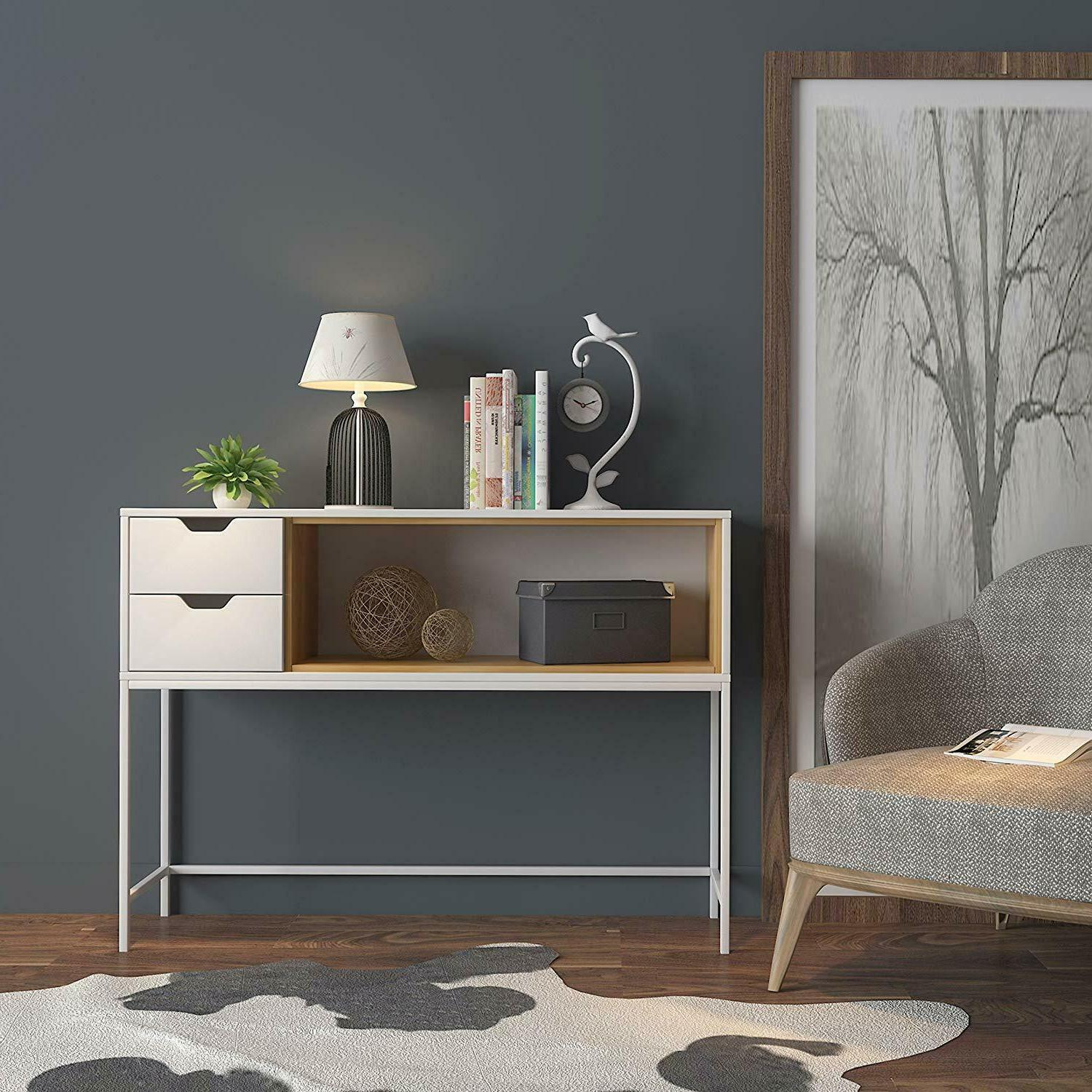 narrow entryway table console furniture accent foyer