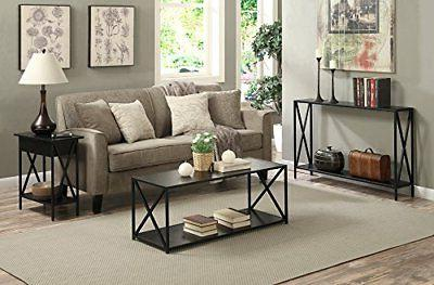 Narrow Table Slim Accent Living Room