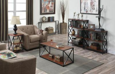 Narrow Table Slim Accent Living