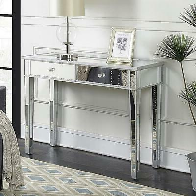 Modern Mirrored Console Table Table Furniture