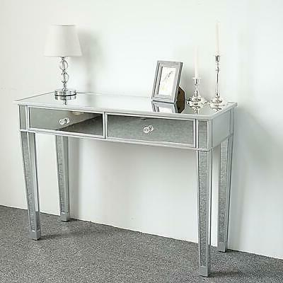 Modern 2-Drawers Table Bedroom Table