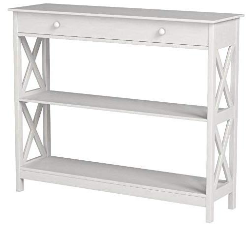 Convenience Oxford 1-Drawer Console Table,