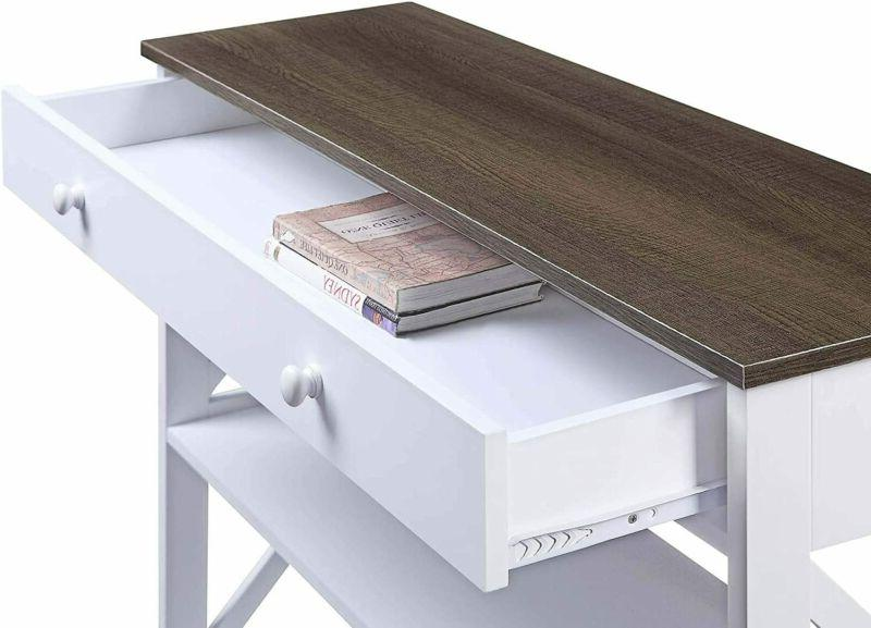Drawer Console / White