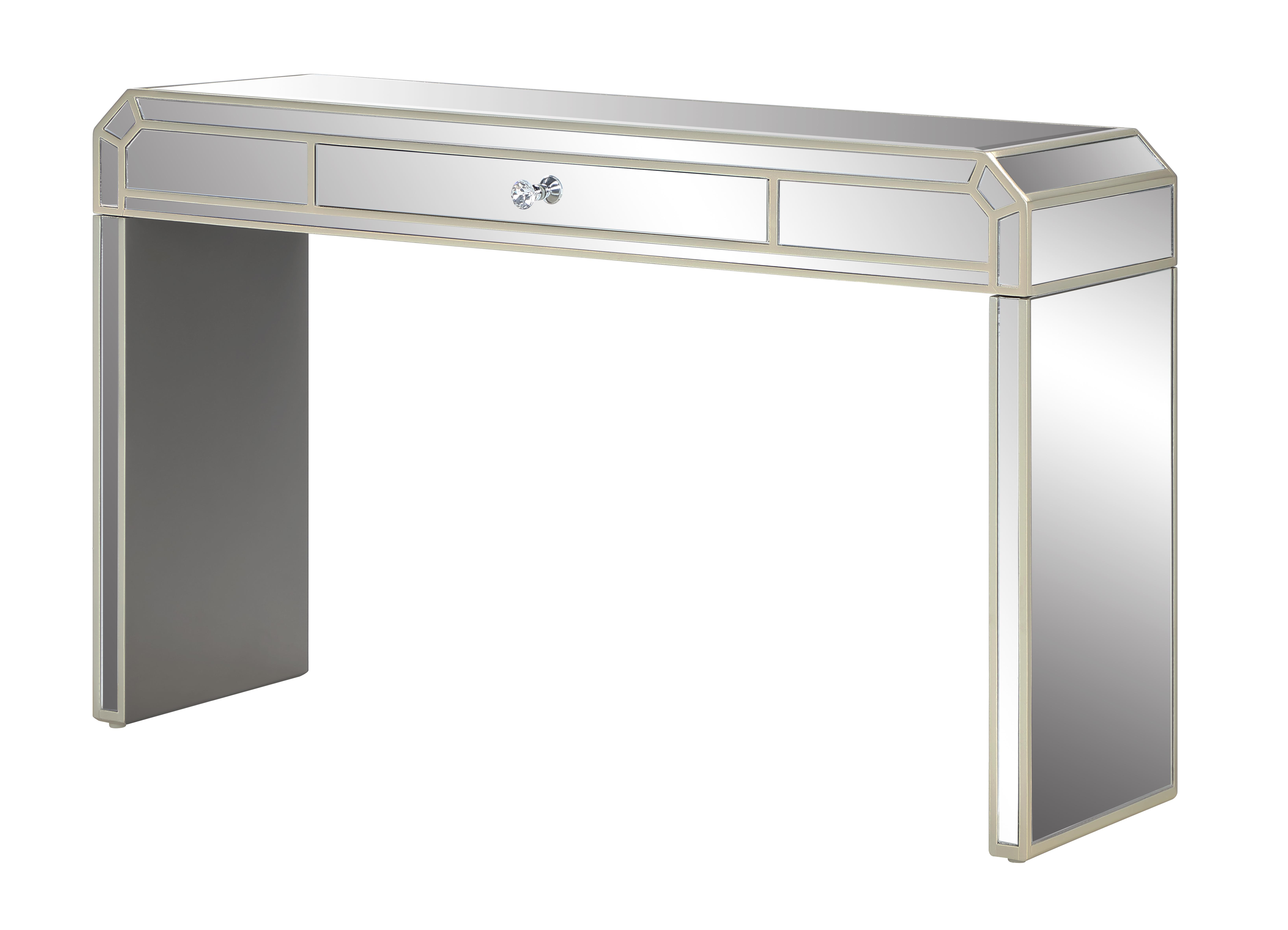 reflections one drawer console table 40264