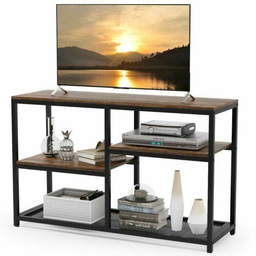 """Tribesigns 47"""" Table 4-Tier Sofa Entryway Table Shelves"""