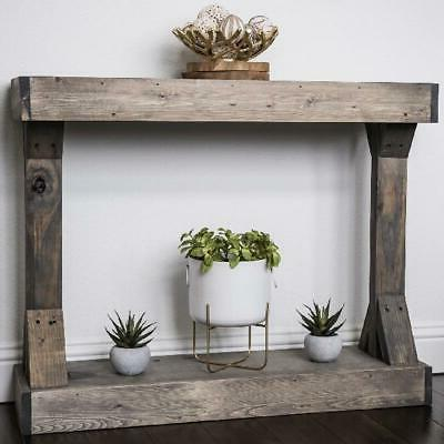 Rustic Solid Distressed Display