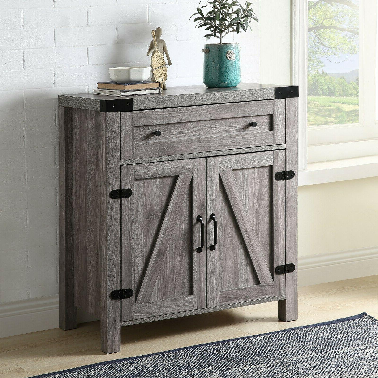 rustic console table vintage side table retro